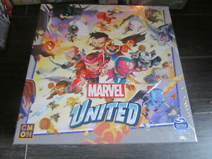 Marvel United Kickstarter Exclusive Board Game Stretch Goals Promo Box Sealed