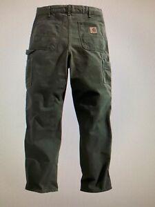 NEW Carhartt FR Duck Work Dungaree Flame Resistant HRC-2 FRB229 Pants Men