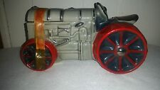 1971 Ezra Brooks Decanter Fordson Tractor with Tax Band Indiana Sticker Empty