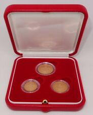 MONACO 2005 1-2-5 EURO CENTS *PRISTINE 3 COIN PROOF SET IN MINT PACKAGING*