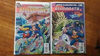 Bloodbathe 1-2 Complete Set 1993 DC High Grade Comic Book RM13-60