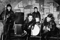 8x10 Print Beatles with Pete Best John Lennon Liverpool London Cavern Club #8955