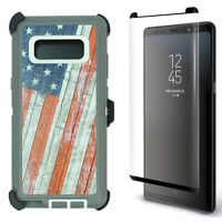 For Samsung Galaxy Note 8 Camo Case (Bet Clip Holster Fits Otterbox Defender)