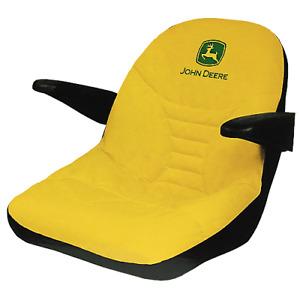 "John Deere Original 18"" Eztrak Seat Cover - For seat with Armrests LP92734"