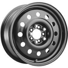 1 New 16X6.5 Pacer 83B Fwd Black Mod Steel Wheel Rim +42 5X108 & 5X4.50