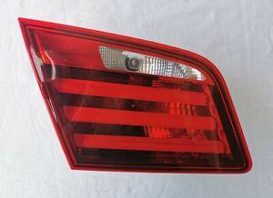 BMW 5 SERIES SEDAN F10 LEFT DRIVER SIDE TRUNK INNER REAR TAIL LIGHT OEM 7203225