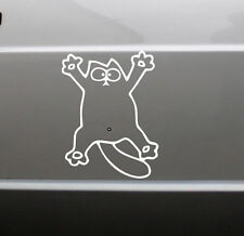 Simons Cat Sticker XXL NEU Aufkleber Scheibe Diesel Wand Katze Auto Fun Lustig