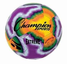 Champion Sports Extreme Tie Dye Size 5 Soft Touch Composite Soccer Ball Extd5
