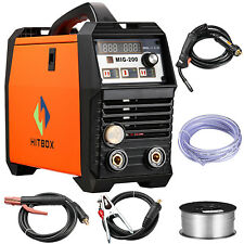 MIG Welder 200A Inverter Welding Machine Gasless Gas 220V MMA Lift TIG MAG ARC