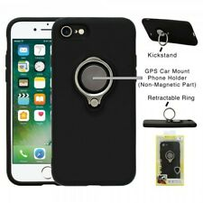 Ring GPS car mount Phone Holder Case for iPhone 8/7 – Black