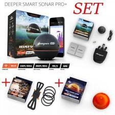 Deeper Pro+ Plus Set + Smartphone Halterung + Night Cover Echolot Fischfinder