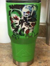 Ozark trail tumbler 30 oz hydro dipped. Harley Quinn the Joker. Mad love.