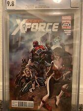 Uncanny X-Force #23 CGC 9.8 Death of Jamie Braddock Leinil Francis Yu