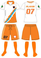 20 CUSTOM MADE SOCCER UNIFORM SETS SUBLIMATED WITH NAME NUMBER ADULT SIZES YOUTH