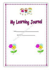 GIRLS PINK*MY LEARNING JOURNEY/OBSERVATION BOOK* EYFS CHILDMINDER CHILDMINDING