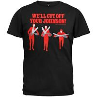 Big Lebowski - Cut Off Your Johnson Adult Mens T-Shirt