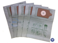 10 x NUMATIC PVR-200A hoover Vacuum Cleaner Double Layer Filtration Dust Bags