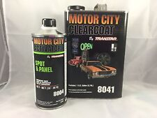 MOTOR CITY CLEARCOAT(8041) WITH ACTIVATOR(8004) by TRANSTAR