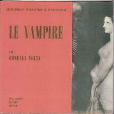 Ornella Volta, Le vampire, Pauvert, cinema, arte, vampiro, Erotologie