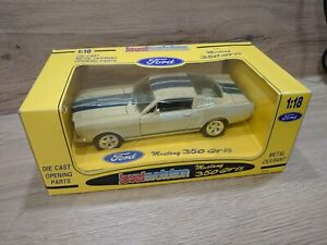 Jouef évolution ford mustang gt 350 65' Shelby 1/18e