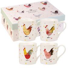 Alex Clark Rooster Larch Mug (set of 4)