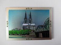 Köln Dom Cologne  Premium Souvenir Magnet,Germany Deutschland,Laser Optik