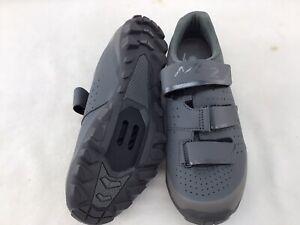 Shimano SHME201W Gray Leather Cycling Shoes Euro 41/U.S 8.5  K1391