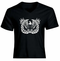 Army Warrant Officer Symbol Icon Eagle Mens Women Unisex V-Neck Tee T-Shirt