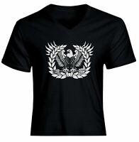 Army Warrant Officer Symbol Icon Eagle Mens Women Unisex V-Neck Tee T-Shirt