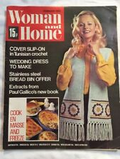 Vintage Woman and Home Magazine February 1973