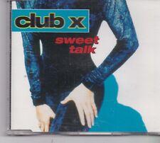 Club X-Sweet Talk cd maxi single