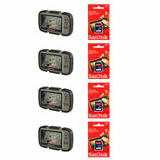 Stealth Cam LCD Game Photo Viewer (4 Pack) & SanDisk 16GB Card (4 Pack)