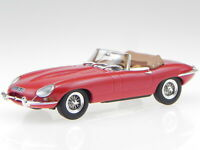 Jaguar E-Type convertible red 1961 diecast model car 270062 Norev 1/43