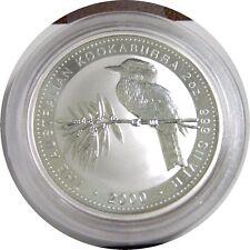 elf Australia 2 Dollars 2000 Silver 2 Ounces Kookaburra Bird
