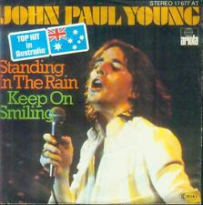 "7"" John Paul Young/Standing In The Rain (D) Top Hit In Australia"