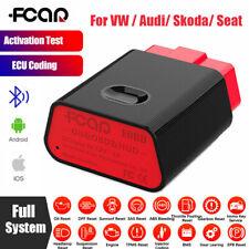 Fcar F600 Bluetooth Full System OBD2 Scanner ABS Engine Code Reader for VW Audi