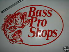 BASS PRO SHOPS fishing decal reel bass boat hunting rod lure sticker truck