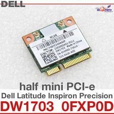 Dell Wireless Dw1703 Half Size Mini Pci-e Wifi WLAN 300 Mbps & BT 4.0 (atheros)