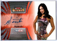 TNA Sarita 2010 Tristar New Era Autograph Card