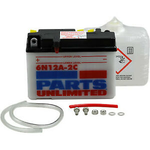 Parts Unlimited Conventional Battery Kit 2113-0158