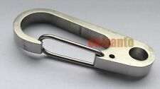 Stainless steel Quick Link Carabiner Spring Snap Hook Clip 50mm KC008