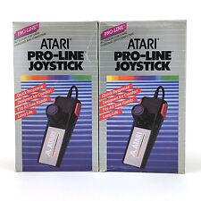 2 x ATARI PRO-LINE JOYSTICK CX24 1987 ACCESSORY FOR GAME CONSOLES AND COMPUTERS