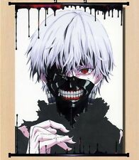 Hot Japan Anime Cosplay Tokyo Ghoul Ken Home Decor Wall Scroll 21*30CM 006