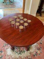 12 TIFFANY STERLING SILVER MINT JULEP CUPS TUMBLERS WHISKEY SOUR KENTUCKY DERBY