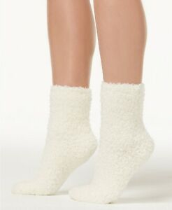 F95 HUE Black Blue Cream Women's Butter Super Soft Cozies Socks One Size