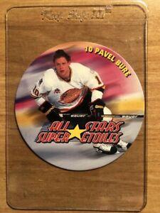 Pavel Bure 1994/95 Kraft Hockey Disc's VERY RARE Vancouver Canucks
