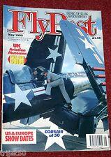 Flypast 1990 May F4U Corsair,West Malling,Spitfire