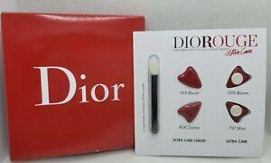 Dior Rouge Ultra Care Liquid Lipstick Sample w/ Applicator 999, 808, 707 NEW