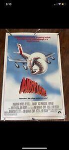 Airplane 40x60 original movie poster