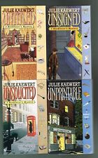 Four books by Julie Kaewert All paperbacks from 1998 to 2001